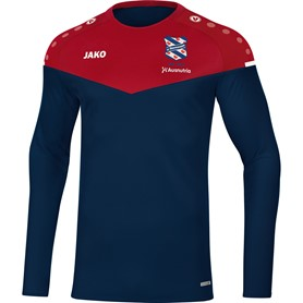 Sweater champ 2.0 rood/blauw adult